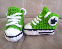 All star de croch� verde