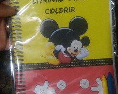 Revistinhas de colorir