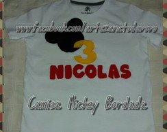 Camisa Mickey Patch Apliqu�