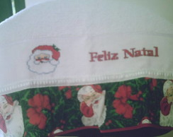 Toalha de Rosto Natal