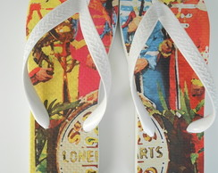 Chinelo Fab Four Sgt Pepper's