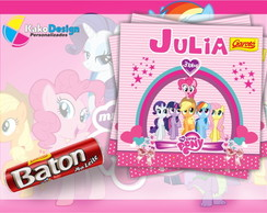 R�tulo para Baton My Little Pony