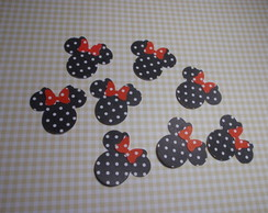Minnie - Aplique para festa do MICKEY
