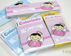 Kit Colorir mini revistinha