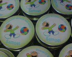 LATINHA PERSONALIZADA - MINT TO BE