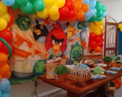 Decora��o do angry birds rustico