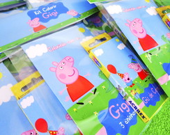 Kit Colorir Peppa Pig {Lapela}