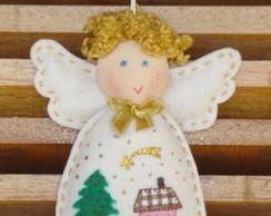 Anjo sach� - casinha Natal