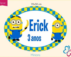 Placa Digital - Minions
