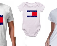 Kit 3 camisetas Tommy