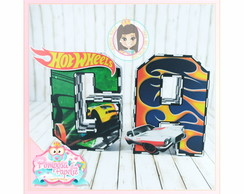 Letras 3D Hot Wheels