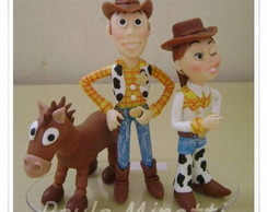 Toy Story - Topo de Bolo