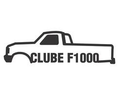 Usado, Adesivo Ford Clube da F-1000 F1000 15cm comprar usado  Brasil