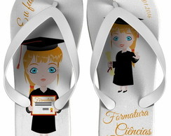 Chinelo Formatura Ci�nc. Cont�beis 0028