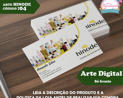 Arte Digital - Cart�o de Visita cod 04