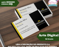 Arte Digital - Cart�o de Visita cod 05