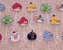 Kit - Colheres para doces - Angry birds
