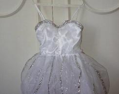 Vestido Fadinha da Neve