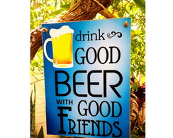 Placa Good Beer 15x20