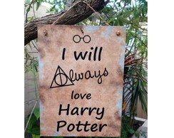 Placa Always Harry Potter 15x20