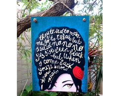Placa Amy Winehouse 15x20