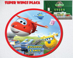 SUPER WINGS Placa Impressa LUXO