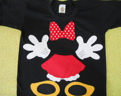 Camiseta da minnie