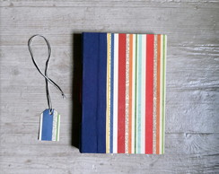 caderno VINTAGE LONGSTITCH TRIPLO