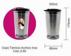 Copo termico inox