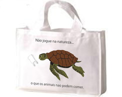 Sacolas 100% PET RECICLADO