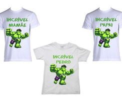 Kit de Camisetas Incr�vel