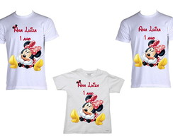 Kit de Camisetas Minnie