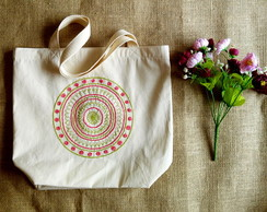 Ecobag bordada � m�o
