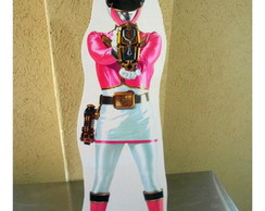 Display Festa Infantil Power Ranger Rosa