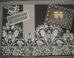 Caderno de assinatura casamento