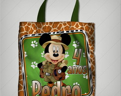 bolsinha mickey safari 23x26