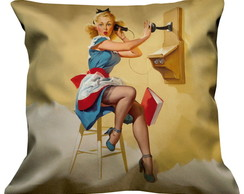 Almofada Pin Up Telefone