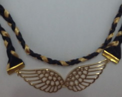 Colar Angel Wings Dourado