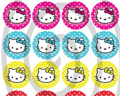 Topper Cupcake Hello Kitty