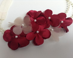 headband flowers bord�