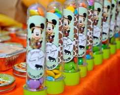 Tubetes personalizados - Mickey Safari