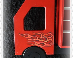 Porta carrinhos 'Hot Wheels""