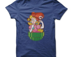 Camiseta Super Mario Princesa Peachy
