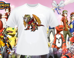 Camisa Personalizada - Digimon World