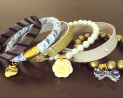 Mixed Pulseiras Brown