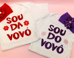 Kit Baby - Sou da Vov� e do Vov�