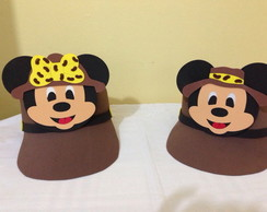 Bon� em EVA Mickey Minnie Safari