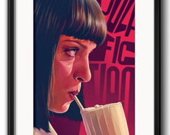 Quadro Pulp Fiction Milk Shake Paspatur