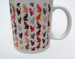 Caneca Cat estampa
