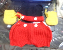 roupa do mickey de croch�